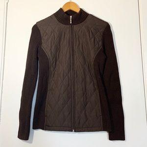 Croft&Barrow Vest style full zip sweater size s